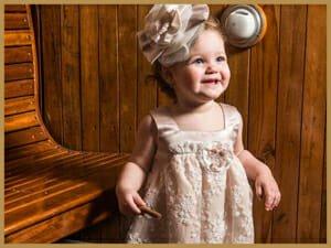 Βαπτιστικά ρούχα για κορίτσι