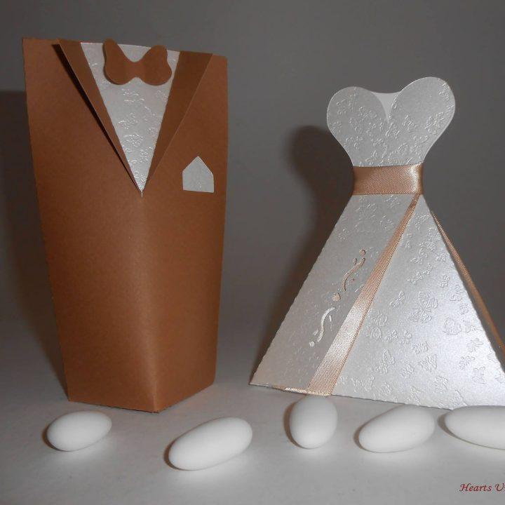 Μπομπονιέρα γάμου - ΚΩΔ.: BG026 | μπομπονιέρες γάμου από heartsunionart.gr