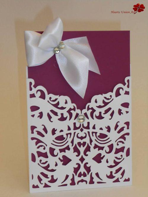 Προσκλητήριο γάμου - ΚΩΔ.: PG011   προσκλητήρια γάμου από heartsunionart.gr