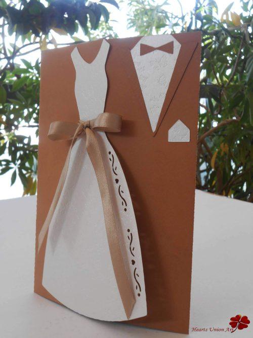 Προσκλητήριο γάμου - ΚΩΔ.: PG018   προσκλητήρια γάμου από heartsunionart.gr