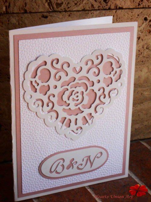 Προσκλητήριο γάμου - ΚΩΔ.: PG020 | προσκλητήρια γάμου από heartsunionart.gr