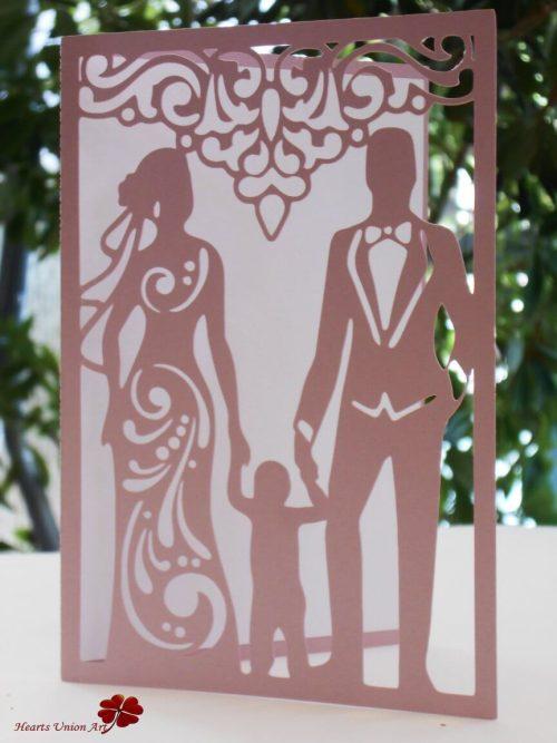 Προσκλητήριο γάμου - ΚΩΔ.: PG024