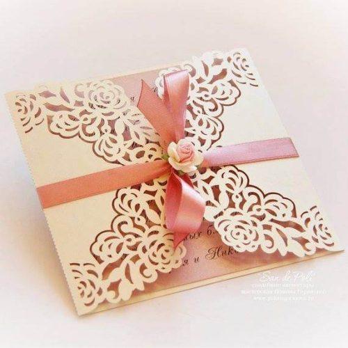 Προσκλητήριο γάμου - ΚΩΔ.: PG030   προσκλητήρια γάμου από heartsunionart.gr