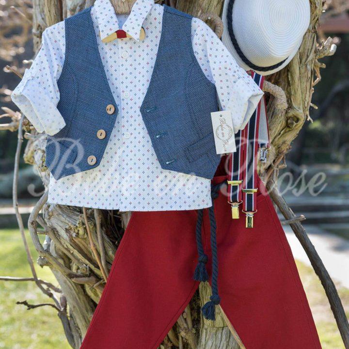 Βαπτιστικά ρούχα για αγόρι - ΚΩΔ.: BR008 | Οικονομικά, Πρωτότυπα, Μοντέρνα Βαπτιστικά Ρούχα για Αγόρια από heartsunionart.gr