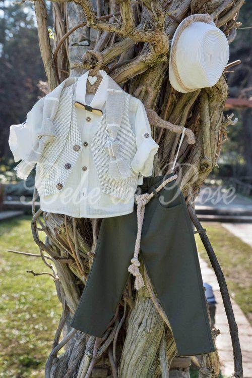 Βαπτιστικά ρούχα για αγόρι - ΚΩΔ.: BR009   Οικονομικά, Πρωτότυπα, Μοντέρνα Βαπτιστικά Ρούχα για Αγόρια από heartsunionart.gr