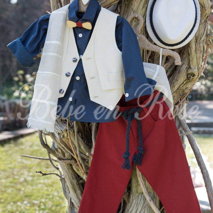 Βαπτιστικά ρούχα για αγόρι - ΚΩΔ.: BR018 | Οικονομικά, Πρωτότυπα, Μοντέρνα Βαπτιστικά Ρούχα για Αγόρια από heartsunionart.gr