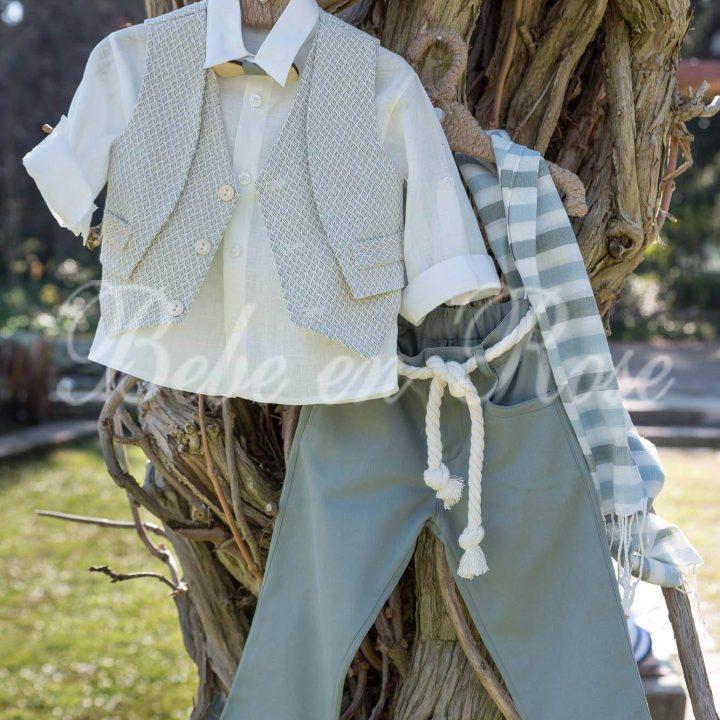 Βαπτιστικά ρούχα για αγόρι - ΚΩΔ.: BR025 | Οικονομικά, Πρωτότυπα, Μοντέρνα Βαπτιστικά Ρούχα για Αγόρια από heartsunionart.gr
