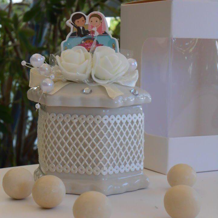 Μπομπονιέρα γάμου - ΚΩΔ.: BG135 | μπομπονιέρες γάμου από heartsunionart.gr